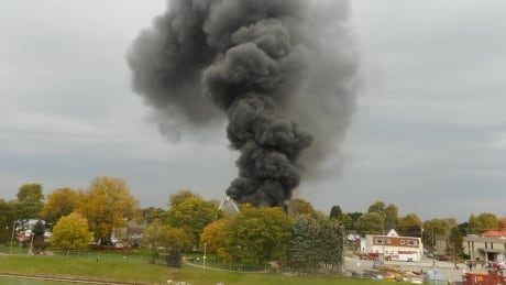 Toxic fire in Chatham