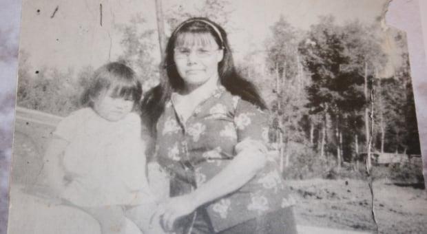 Elaine Noskiye (with child)