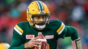 Eskimos clinch playoff spot with last-minute comeback over Argos