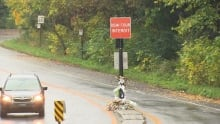 Cyclists safety measures Mount royal
