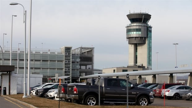 On Thursday, a Skyjet plane was struck by a drone as it approached the Jean Lesage airport.