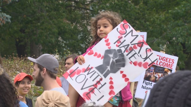Thousands were expected for The Unity Rally to End White Supremacy in Toronto on Sunday.