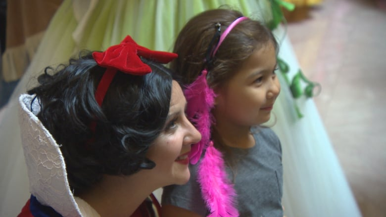 Girls Battling Illnesses Don Princess Gowns For Day Of Glitz And