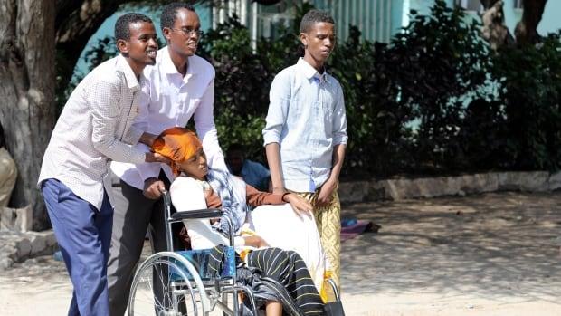 At least 20 dead as huge truck bomb rocks Somali capital