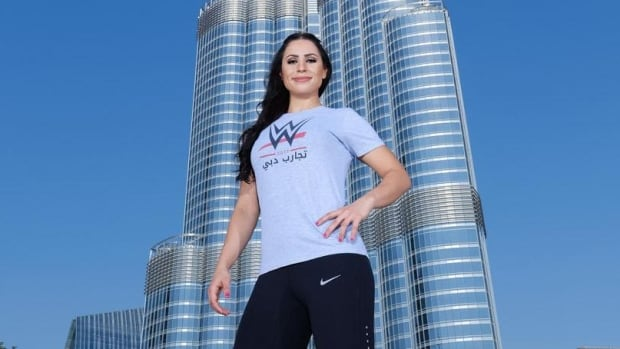 Shadia Bseiso is the first Arab woman to be selected to enter the WWE.