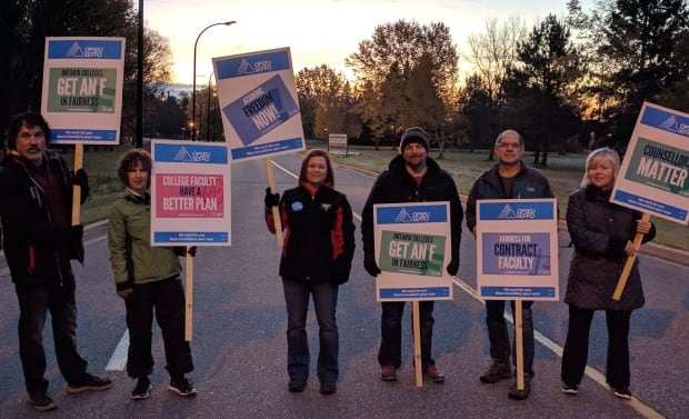 college faculty strike 2