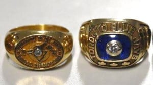 Peel police recover stolen Blue Jays rings decades later