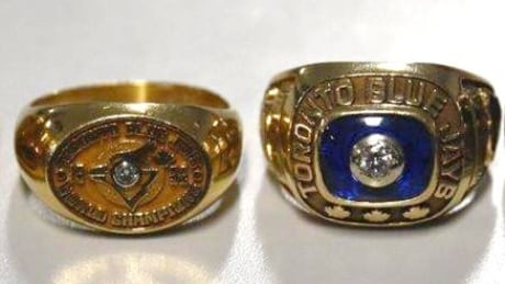 Authentic Jays rings