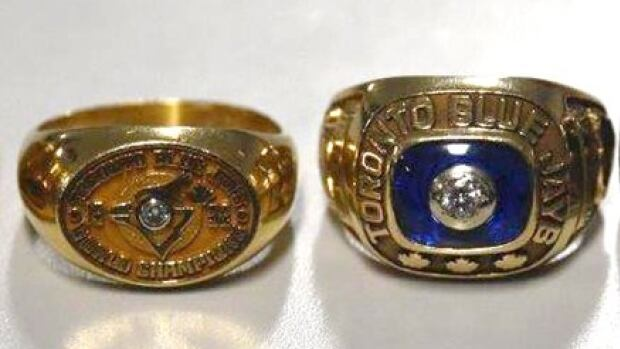Police say the recovered two Blue Jays world series rings 23 years after they were stolen