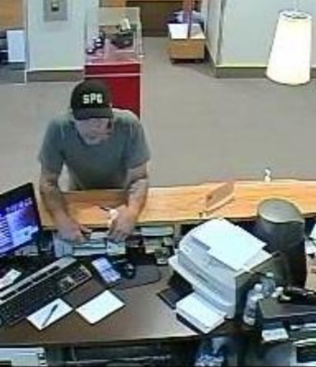 Abbotsford bank robbery suspect