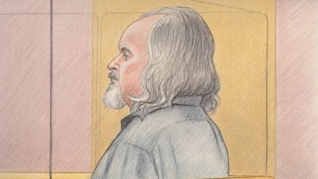 Basil Borutski, 60, sat silent an unresponsive in court on Tuesday, as he has throughout his trial.
