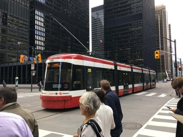 Toronto King Streetcar