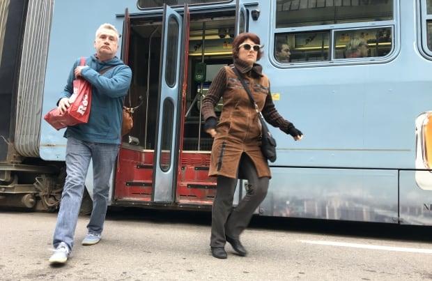 Toronto Streetcar Passengers