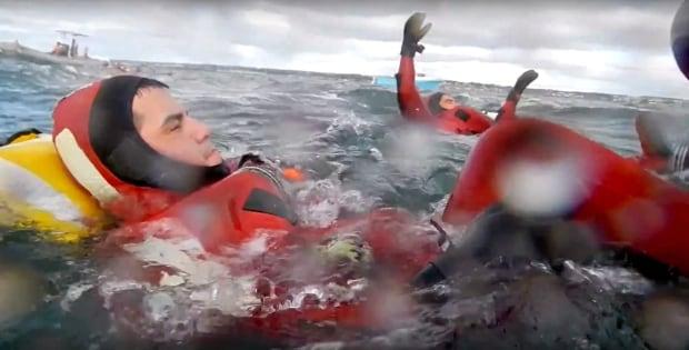 Gitga'at-Coast Guard rescue exercise