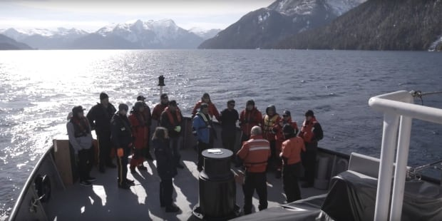 Gitga'at and Coast Guard post-training debrief