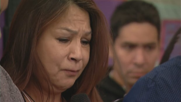 Lorna Sinclair, sister of Myrna Letandre, testifies Monday.
