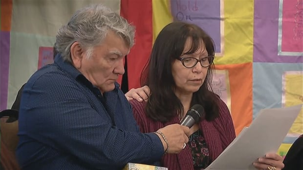 Betty Rourke speaks about the deaths of her sister Jennifer and daughter Jennifer, with her husband