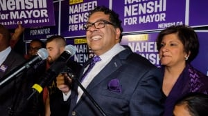 Nenshi re-elected as Calgary's mayor as at least 9 incumbent councillors keep their seats