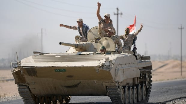 Iraq's security forces retook control of the contested city of Kirkuk on Monday.