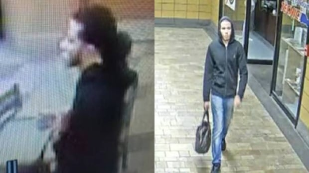 The Longueuil police force has released two photos of this man, who they are calling an important witness in Sunday night's homicide.