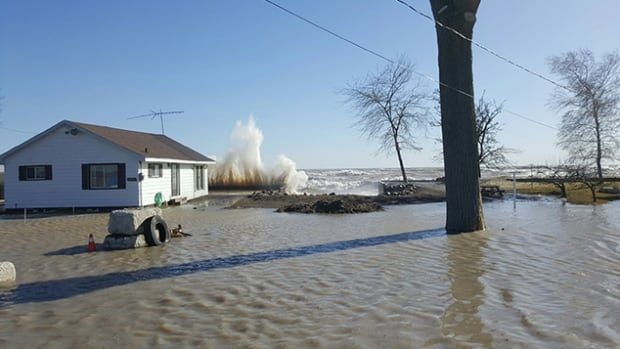 People living along the shore of Lake Erie should prepare for possible flooding in Chatham-Kent and Elgin County over the next couple of days, according to the Lower Thames Valley Conservation Authority.
