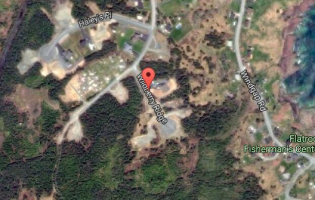 Wildberry Ridge Flatrock map