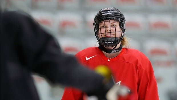 Canada's Emily Clark will make her Olympic debut in South Korea next month.