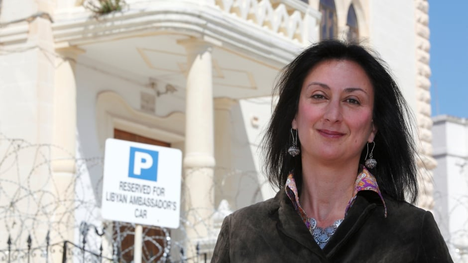 Maltese investigative journalist Daphne Caruana Galizia was killed after a powerful bomb blew up a car killing her in Bidnija, Malta, on Monday.
