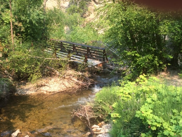 Flood damage Hardy Falls
