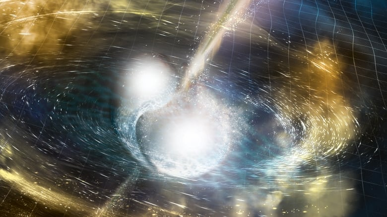 Merger of two neutron stars