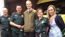 Sam Quilliam paramedics
