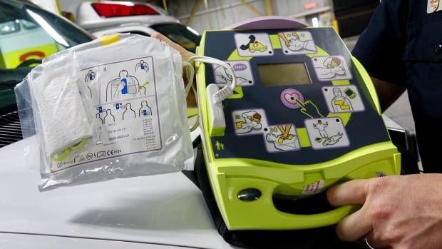 Automated external defibrillator