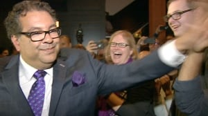'What an out-of-touch tweet to send': Nenshi responds to online barb from Flames staffer