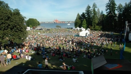 3-day music festival planned for Vancouver's Stanley Park