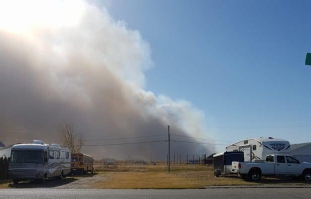 Smoke in Burstall
