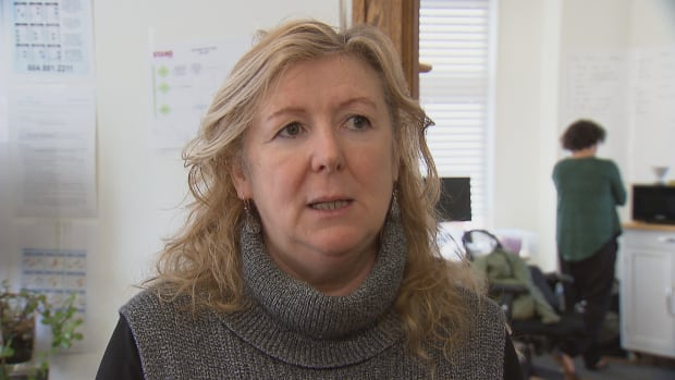 Karen Mahon is the campaign director for Stand.Earth. The environmental organization says bailiffs came to its office to seize assets Tuesday morning.
