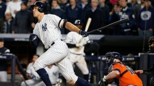 Judge does it again, sparks rally as Yankees even ALCS with Astros