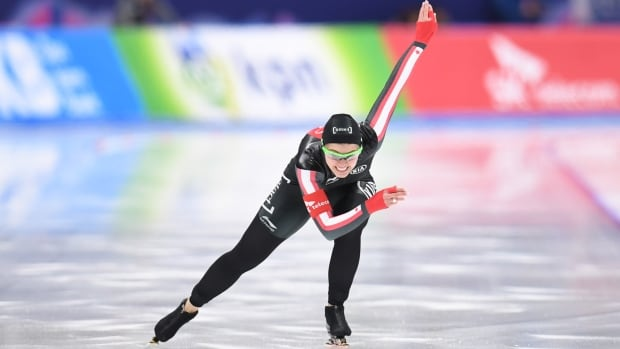 Saskatchewan's Marsha Hudey is one of the skaters coach Kevin Crockett believes can reach the podium in Pyeongchang.