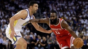 Rockets upset Warriors as Durant's buzzer-beater is overturned