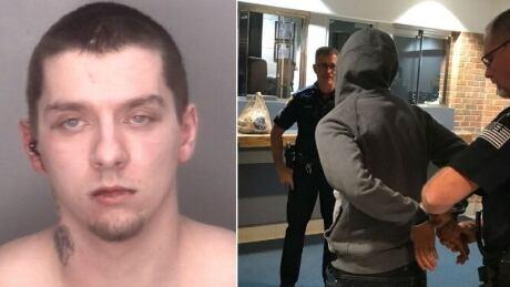 Doughnuts, arrest, Michigan