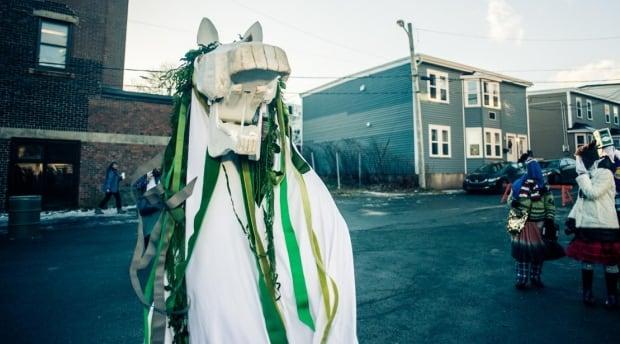 Hobby horse mummer mummers festival