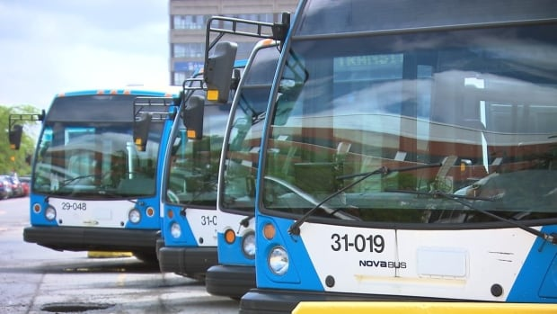 The Quebec government's Bill 62 banning face coverings applies to municipal services, including public transit.