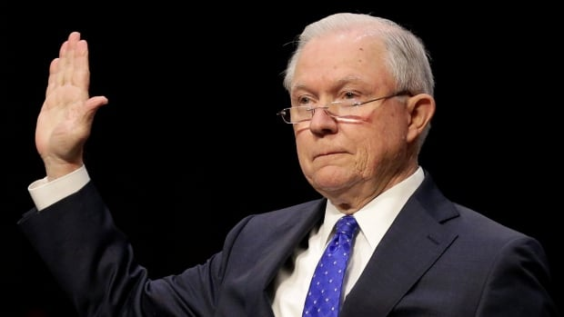 U.S. Attorney General Jeff Sessions testified before the Senate judiciary committee on Wednesday, and defended President Donald Trump's firing of James Comey.
