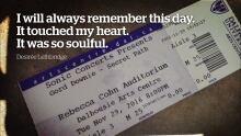 Gord Downie tribute tickets