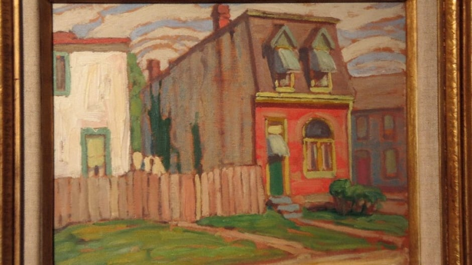 "After an intensive search, historian Ellen Scheinberg finally tracked down the mystery property in ""House, Toronto"" by Group of Seven painter Lawren Harris."