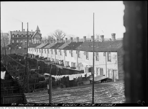 city of Toronto archives Roden Place, rear