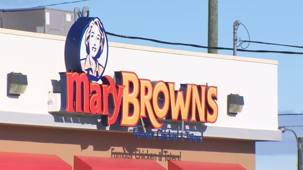 Mary Browns sign