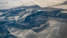 Burstall aerial photo