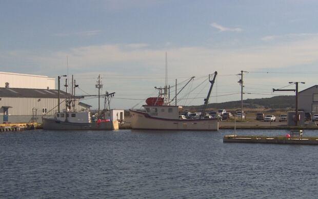 Grand Bank fishing boats