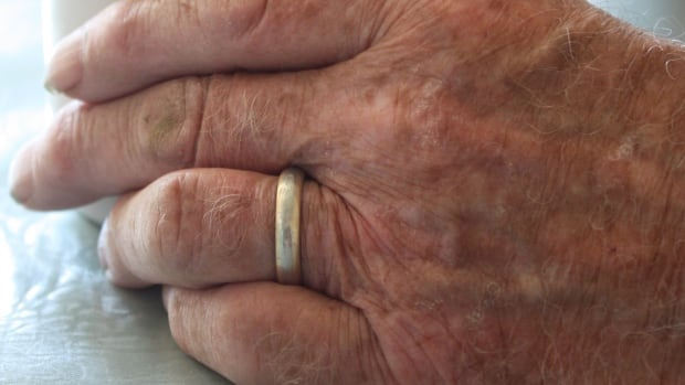 The ring Bill Wilson lost around 45 years ago was returned to him after a woman happened upon it while walking on a rural road.
